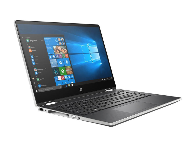 "HP Pavilion x360 14-dh2075nr Intel Core i5 10th Gen 1035G1 (1.00 GHz) 8 GB Memory 256 GB PCIe SSD Intel UHD Graphics 14"" Touchscreen 1366 x 768 Convertible 2-in-1 Laptop Windows 10 Home 64-bit"