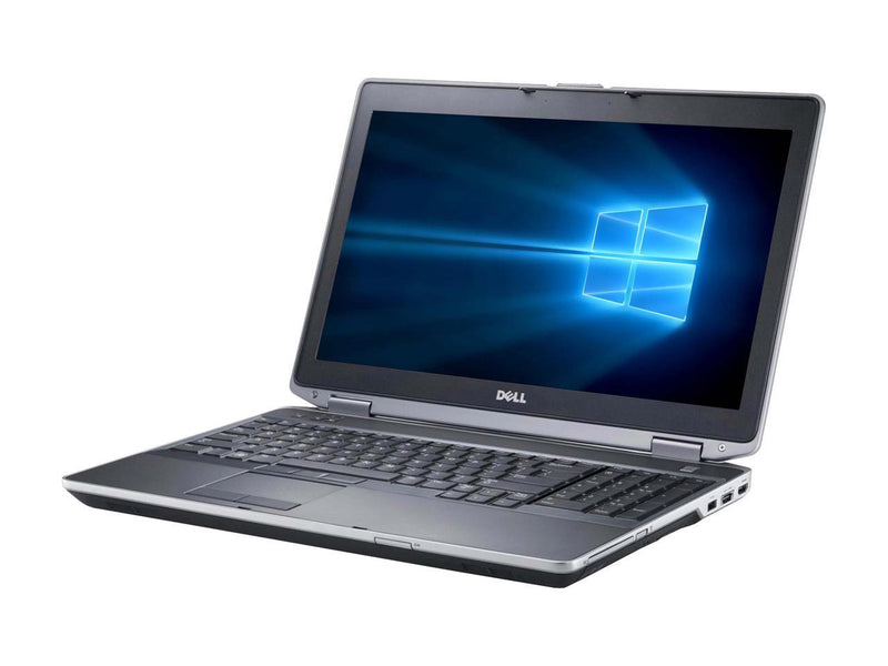 "Refurbished Dell Latitude E6530 15.6"" Intel Core i5-3320M 2.6GHz 4GB DDR3 120GB SSD DVD Windows 10 Professional 64 Bits 1 Year Warranty"