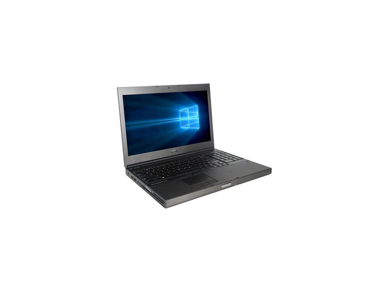 "Refurbished Dell Grade A Precision M4800 15.6"" Laptop, Intel Core I7-4800MQ 2.7 GHz, 8GB Memory, 512G SSD, DVD, 2G GDDR5 DG, WIFI, Windows 10 Home 64-bit (Multi-language), 1 Year Warranty"