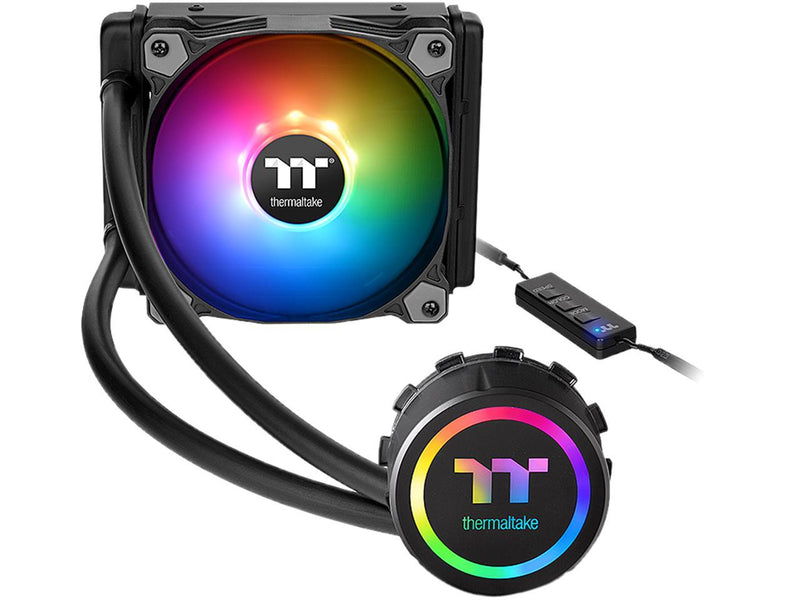 Thermaltake Water 3.0 120 ARGB Sync Edition CL-W232-PL12SW-B Water Cooler