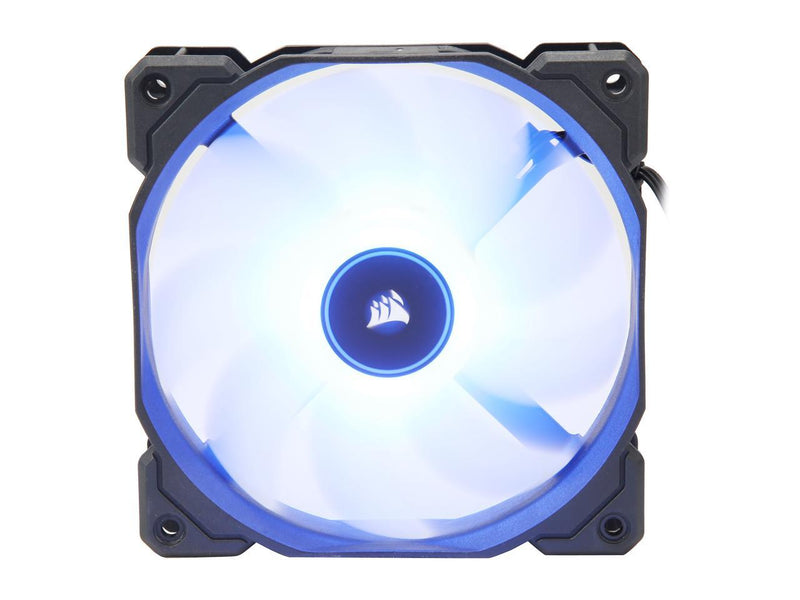 Corsair AF Series AF120 LED (2018) CO-9050081-WW 120mm Blue LED Case Fan, Single Pack.