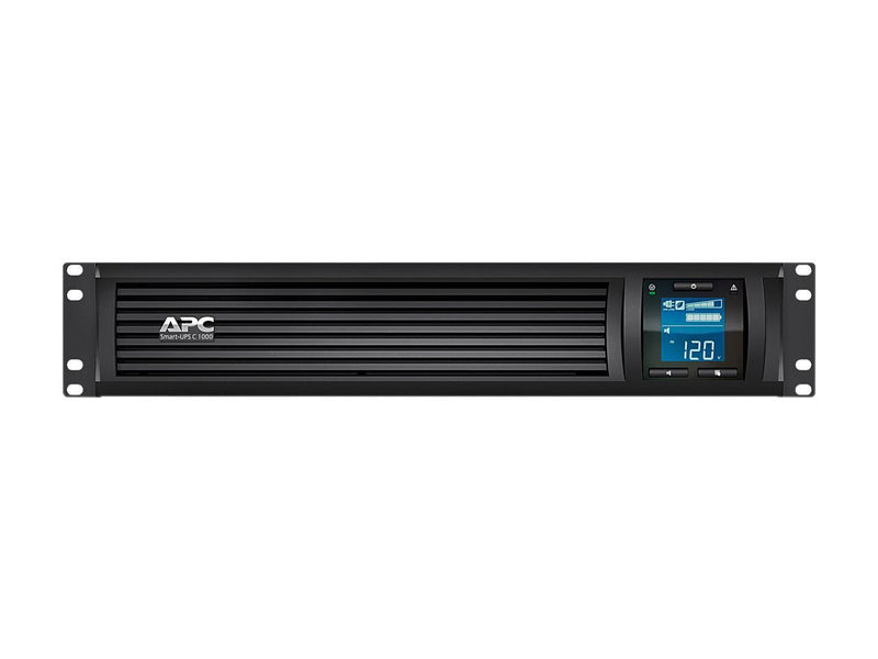 APC SMC1000-2UC 1000 VA 600 Watts 6 Outlets Pure Sinewave Smart-UPS with SmartConnect (Replaces SMC1000-2U)