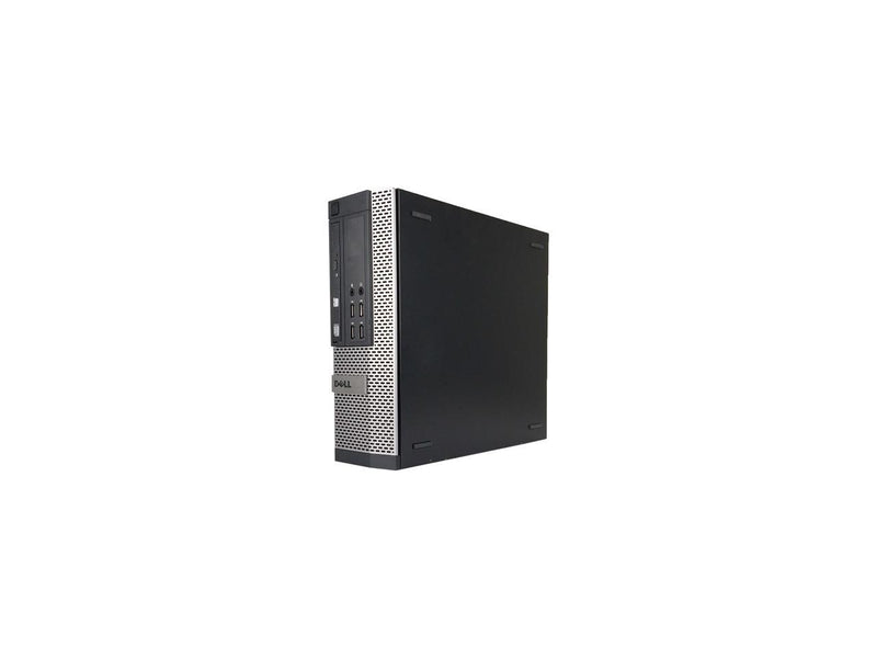 Dell Grade A OptiPlex 990 Small Form Factor, Intel Core i5-2400 3.10 GHz up to 3.40 GHz, 8 GB DDR3, 240 GB SSD, DVD-ROM, Windows 10 Pro 64-bit (English / Spanish), 1 Year Warranty