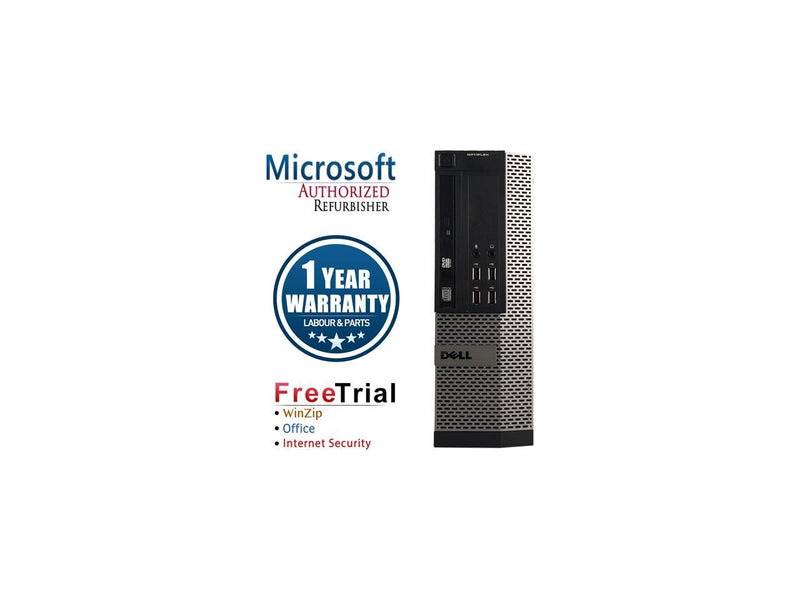Refurbished Dell OPTIPLEX 990 SFF Intel Core i5 2400 3.1G / 16G DDR3 / 240G SSD / DVD / Windows 10 Professional 64 Bit / 1 Year Warranty