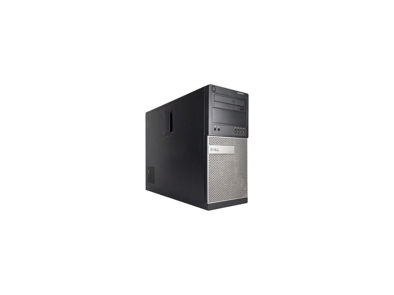 Refurbished Dell OPTIPLEX 990 Tower Intel Core i5 2400 3.1G / 8G DDR3 / 120G SSD+2TB / DVD / Windows 10 Professional 64 Bit / 1 Year Warranty