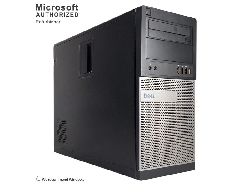 Refurbished Dell OptiPlex 990 Tower Intel Core i5 2400 3.10 GHz / 16 GB DDR3 / 2TB HDD / DVD / USB WIFI / USB BT 4.0 / HDMI / DP / VGA / Windows 10 Professional 64 Bit / 1 Year Warranty