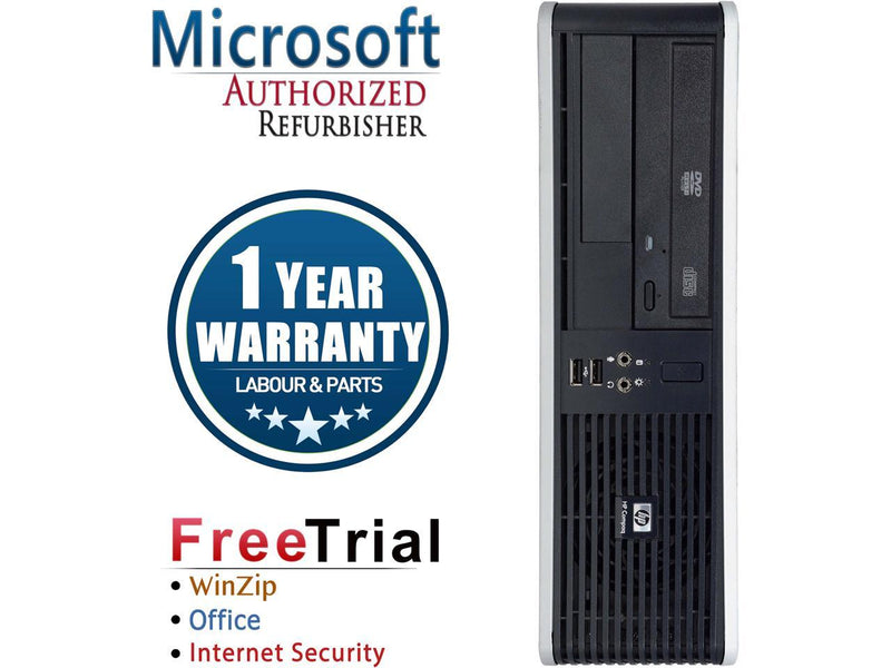 HP Desktop Computer RP5800 Intel Core i3 2nd Gen 2100 (3.10 GHz) 8 GB DDR3 320 GB HDD Intel HD Graphics 2000 Windows 10 Pro Multi-Language, English / Spanish