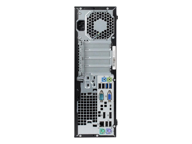 Certified Refurbished HP ProDesk 800G1 SFF Intel Core i5 4590 3.30 GHz / 4 GB DDR3 / 2TB HDD / DVD / Windows 10 Professional 64 Bit / 1 Year Warranty