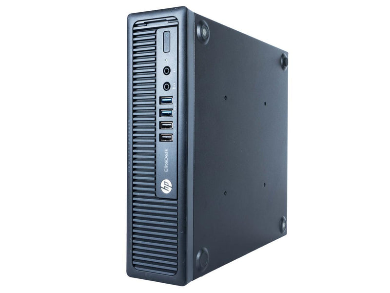 HP ProDesk 800 G1 USFF Intel Core i5 4590S 3.0 GHz, 4 GB DDR3, 250 GB HDD, DVD, Windows 7 Professional 64 Bit, 1 Year Warranty