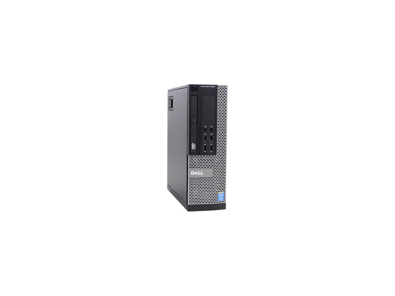 DELL Desktop Computer OptiPlex 9020 Intel Core i5 4th Gen 4590 (3.30 GHz) 8 GB DDR3 256 GB SSD Windows 10 Pro 64-bit