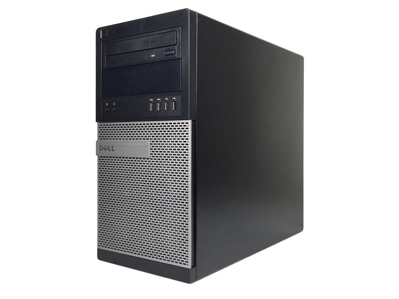 Refurbished Dell Grade A OptiPlex 7020 Tower, Intel Core I5-4590 (3.3 GHz), 12GB DDR3, 240GB SSD, 2TB HDD, DVD, USB WIFI Adapter, USB Bluetooth 4.0 Adapter, Win 10 Home 64 bits (EN/ES), 1 Year Warranty