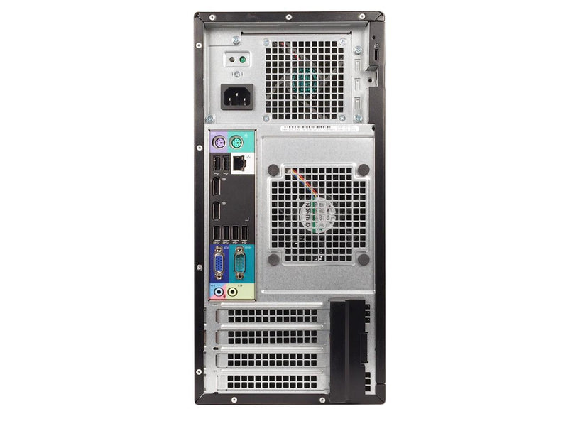 Refurbished Dell Grade A OptiPlex 7020 Tower, Intel Core I5-4590 (3.3 GHz), 32GB DDR3, 512GB SSD, 1TB HDD, DVD, USB WIFI Adapter, USB Bluetooth 4.0 Adapter, Win 10 Home 64 bits (EN/ES), 1 Year Warranty