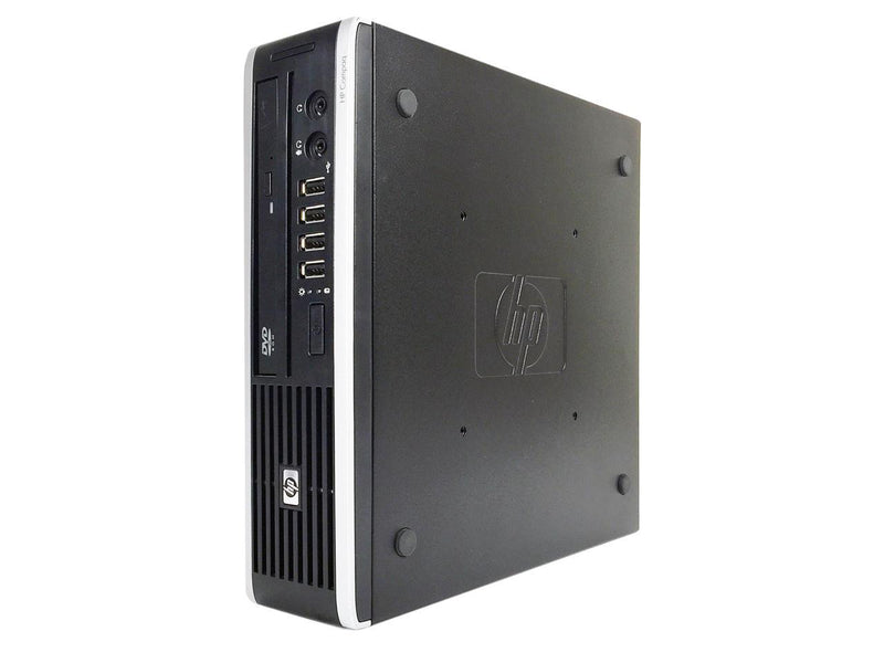 Refurbished HP Grade A Compaq 8200 Elite Ultra-slim PC Intel Core i5 2400S (2.5 GHz), 4 GB DDR3, 1TB, WIFI, Bluetooth 4.0, DVD, Win 10 Home 64-bit (EN/ES), 1 Year Warranty