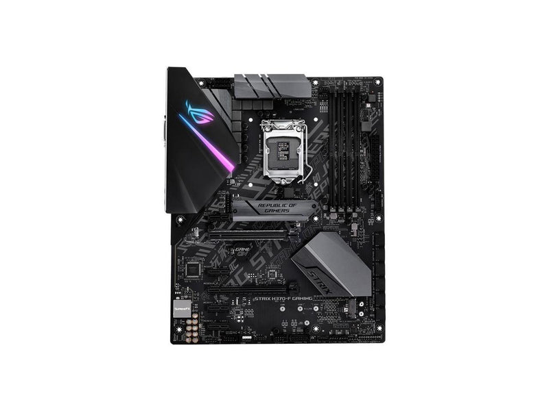 ROG Strix H370-F GAMING Desktop Motherboard - Intel Chipset - Socket H4 LGA-1151