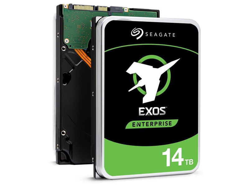 Seagate Exos X16 14TB 7200 RPM SATA 6Gb/s 3.5-Inch Enterprise Hard Drive (ST14000NM001G)