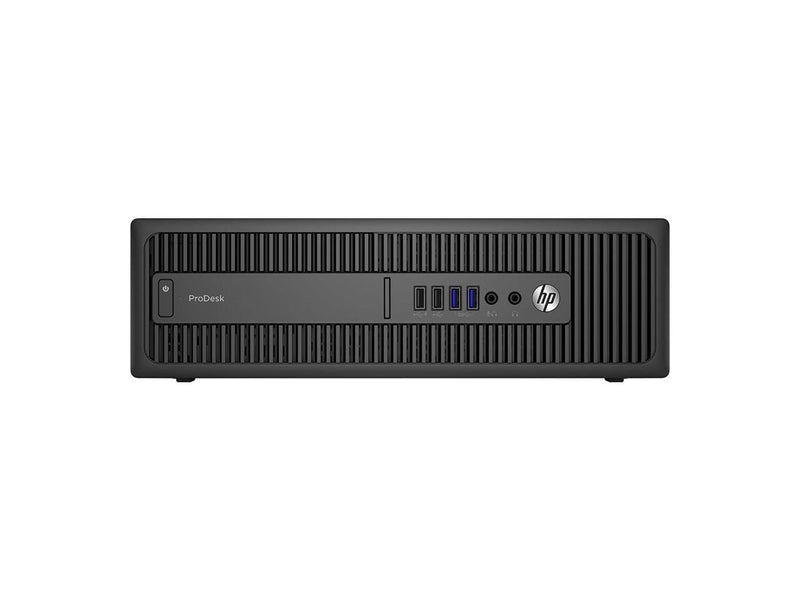 HP Prodesk 600 G2 SFF PC - Intel Core i5 6500 6th Gen 3.2 GHz 8GB 256GB SSD Windows 10 Pro 64-Bit