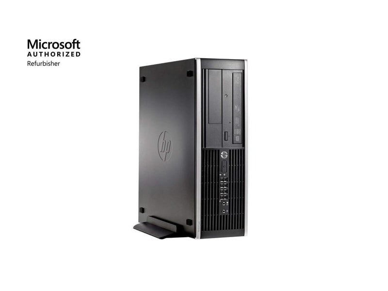 HP Compaq 6300 Pro SFF PC - Intel Core i5 3470 3rd Gen 3.2 GHz 8GB 500GB HDD DVD-RW Windows 10 Pro 64-Bit