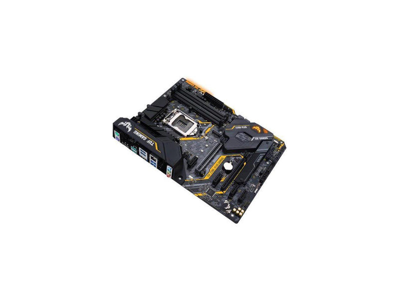 ASUS TUF Z390-PLUS GAMING LGA 1151 (300 Series) Intel Z390 HDMI SATA 6Gb/s USB 3.1 ATX Intel Motherboard