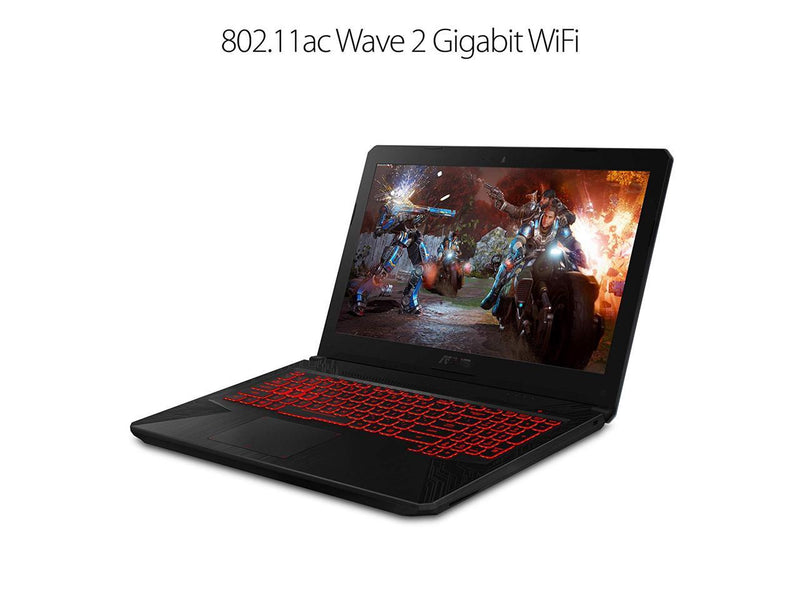 2019 ASUS TUF Powerful Gaming Laptop(32G DDR4 Memory/256G SSD PCIe M.2+1TB HDD) |15.6 FHD Widescreen|Intel Six-Core i7-8750H | NVIDIA GeForce GTX 1060-6GB| HyperCool Tech |Backlit KB | |Windows 10