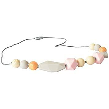 Itzy Ritzy - Pink Wren Teething Necklace