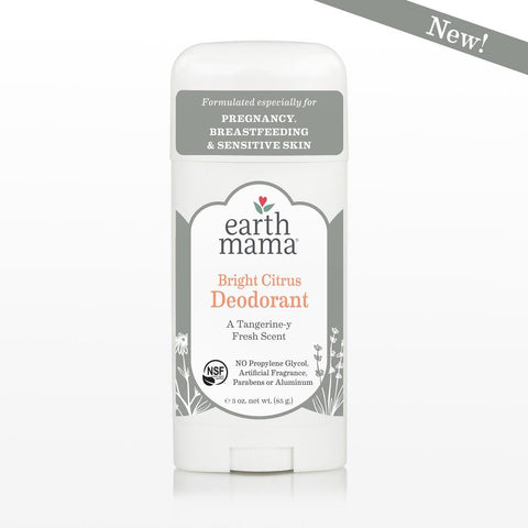 Earth Mama - Bright Citrus Deodorant