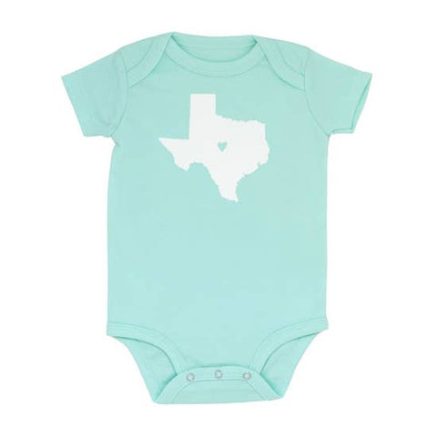 About Face Designs - Texas Onesie