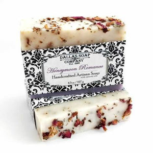 Dallas Soap Company - Honeymoon Romance Artisan Soap