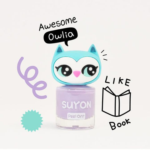 SUYON Collection - Awesome Owlia Purple