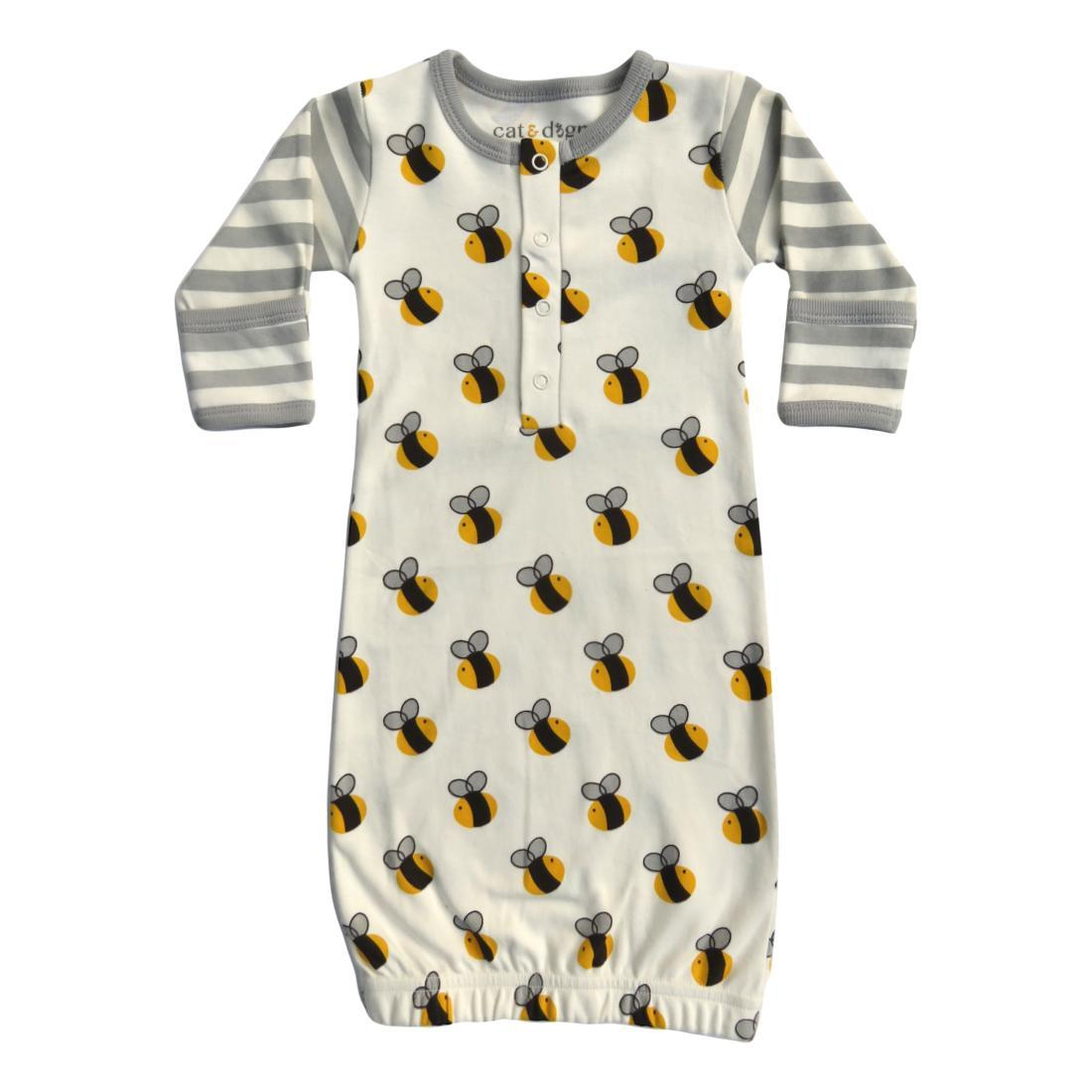 Cat & Dogma - 0-6 months, Bee Gown