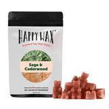 Happy Wax: SAGE & CEDARWOOD 2 OZ. SAMPLE POUCH