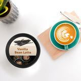 Happy Wax: VANILLA BEAN LATTE 2 OZ. SAMPLE POUCH