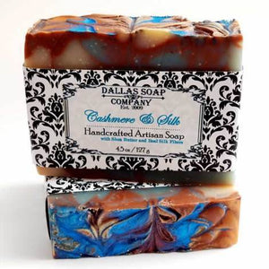 Dallas Soap Company -   Cashmere and Silk Shea Butter Soap
