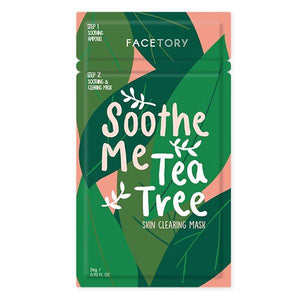FaceTory - Soothe Me Tea Tree Mask