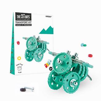 Fat Brain Toys: OFFBITS Transportation Kit - PiperBit