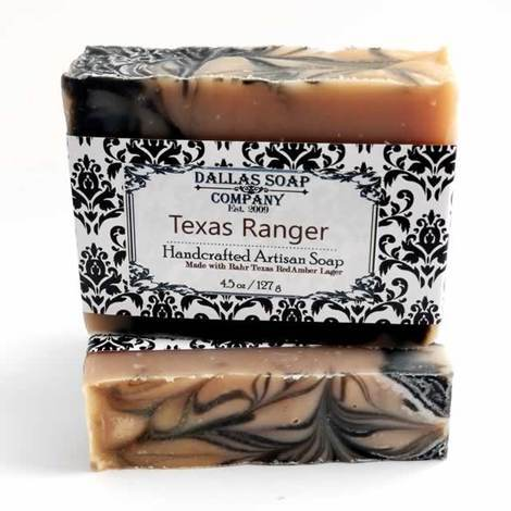 Dallas Soap Company - Texas Ranger Beer Soap