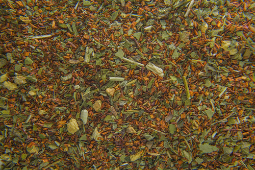 photo of tea leaves