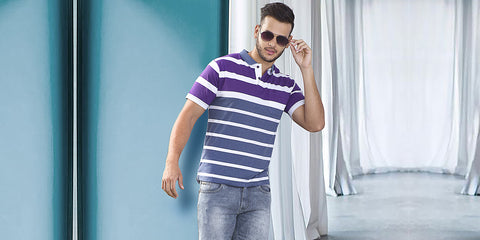 5 Styles to look trendy in a striped t-shirt