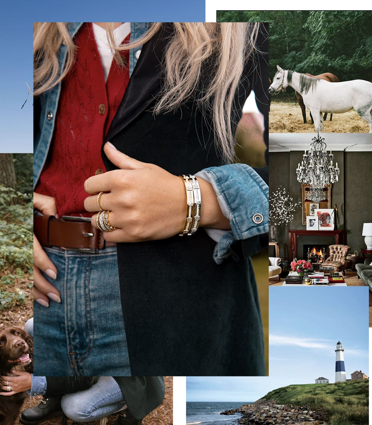 Abelstedt jewelry on the countryside