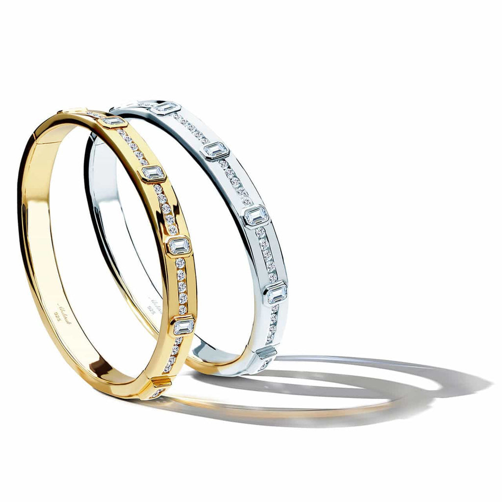 Two bangles standing together
