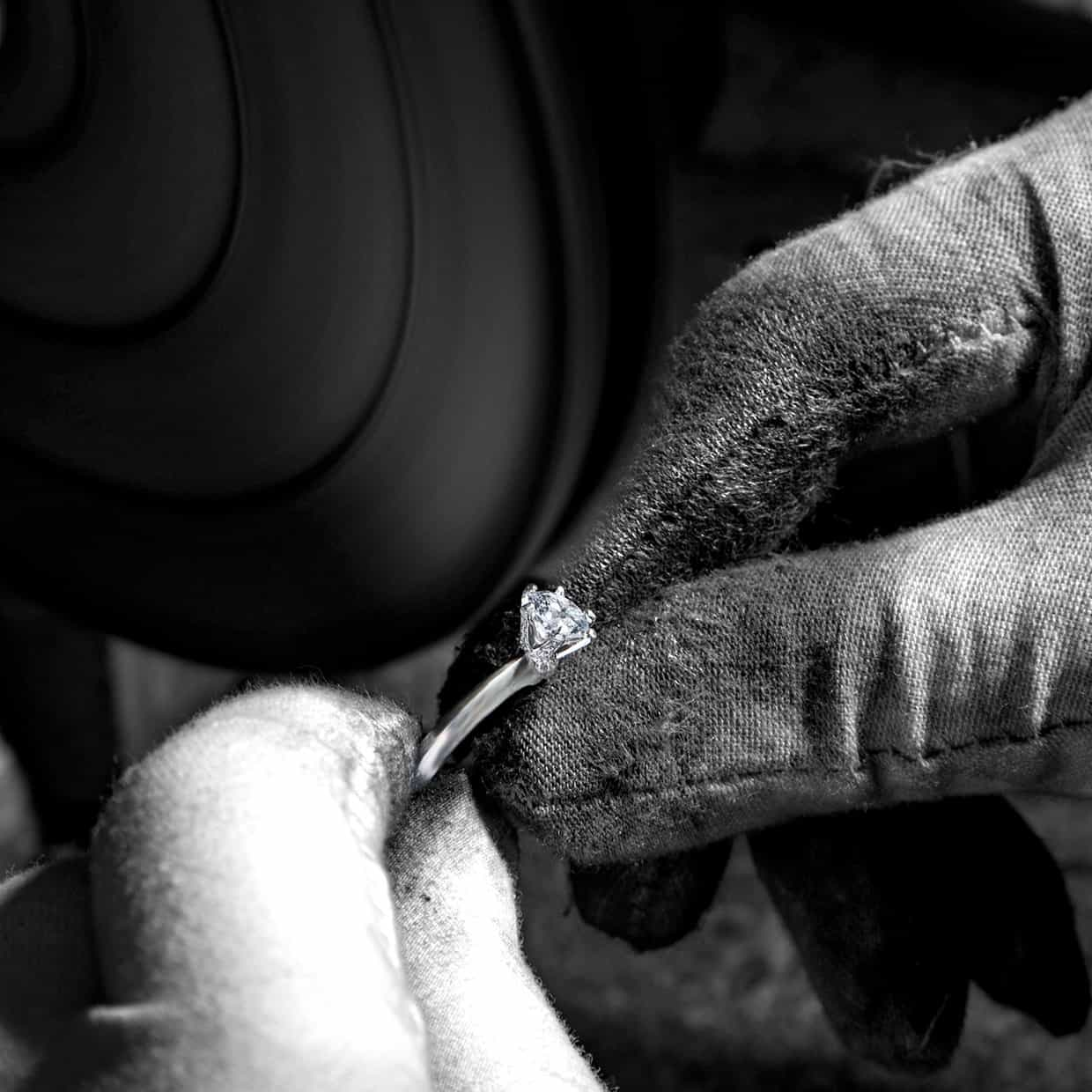 Crafting a silver ring