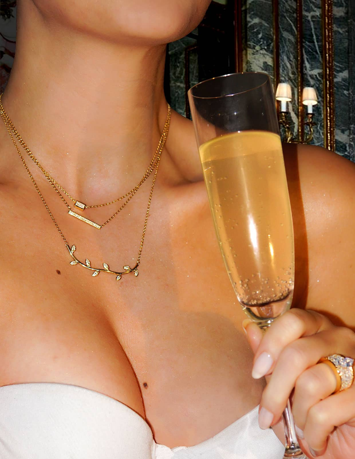 Abelstedt necklaces for a night out
