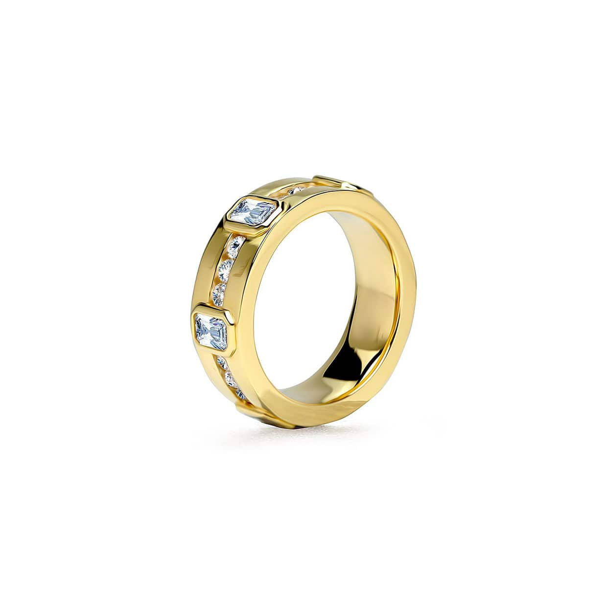 Abelstedt A Gold Wide Ring - Abelstedt