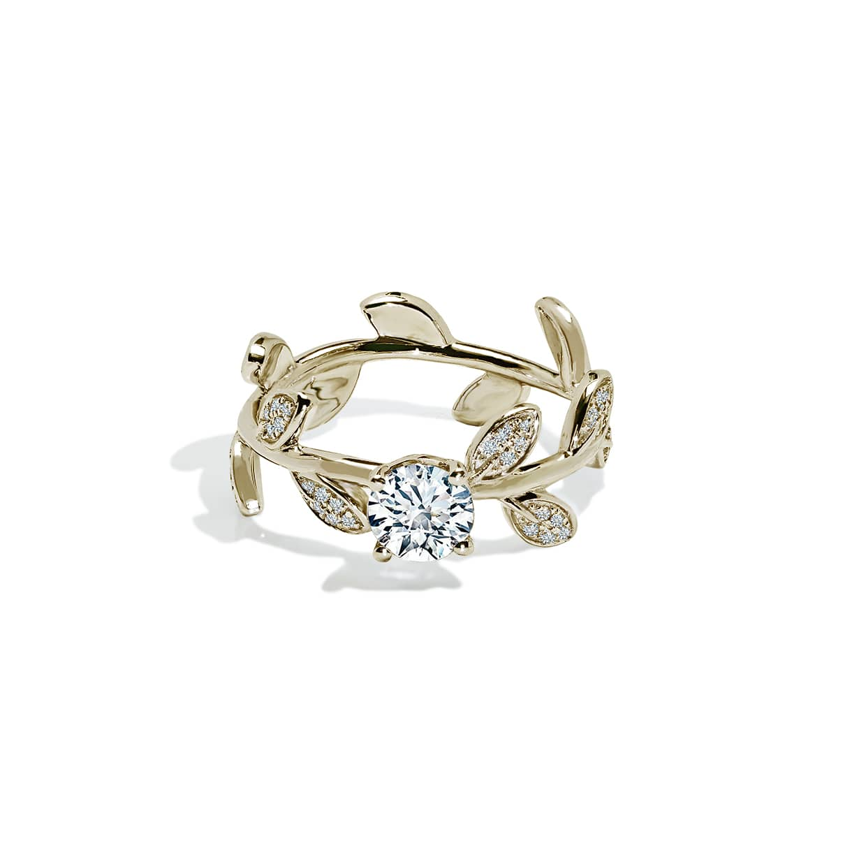 Diamond Flower Ring - Abelstedt
