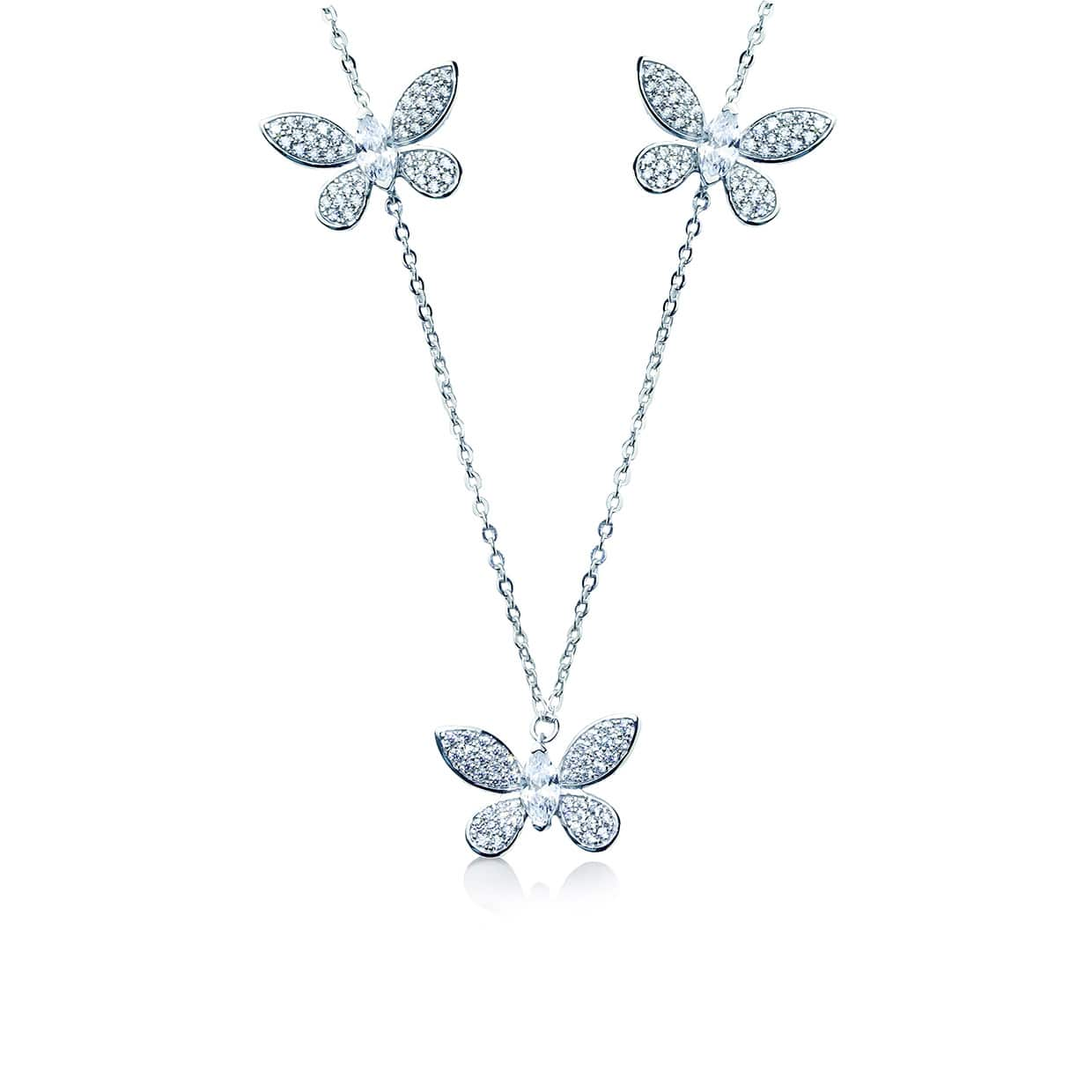 Flora Butterfly Necklace - Abelstedt