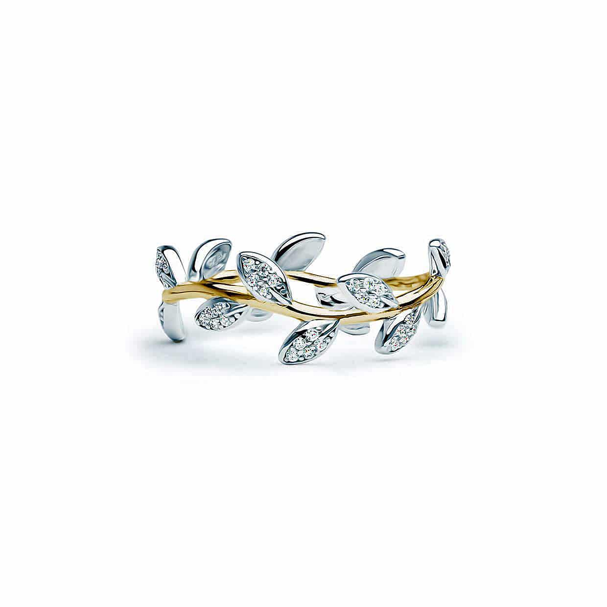Flora Leaf Gold Ring - Abelstedt