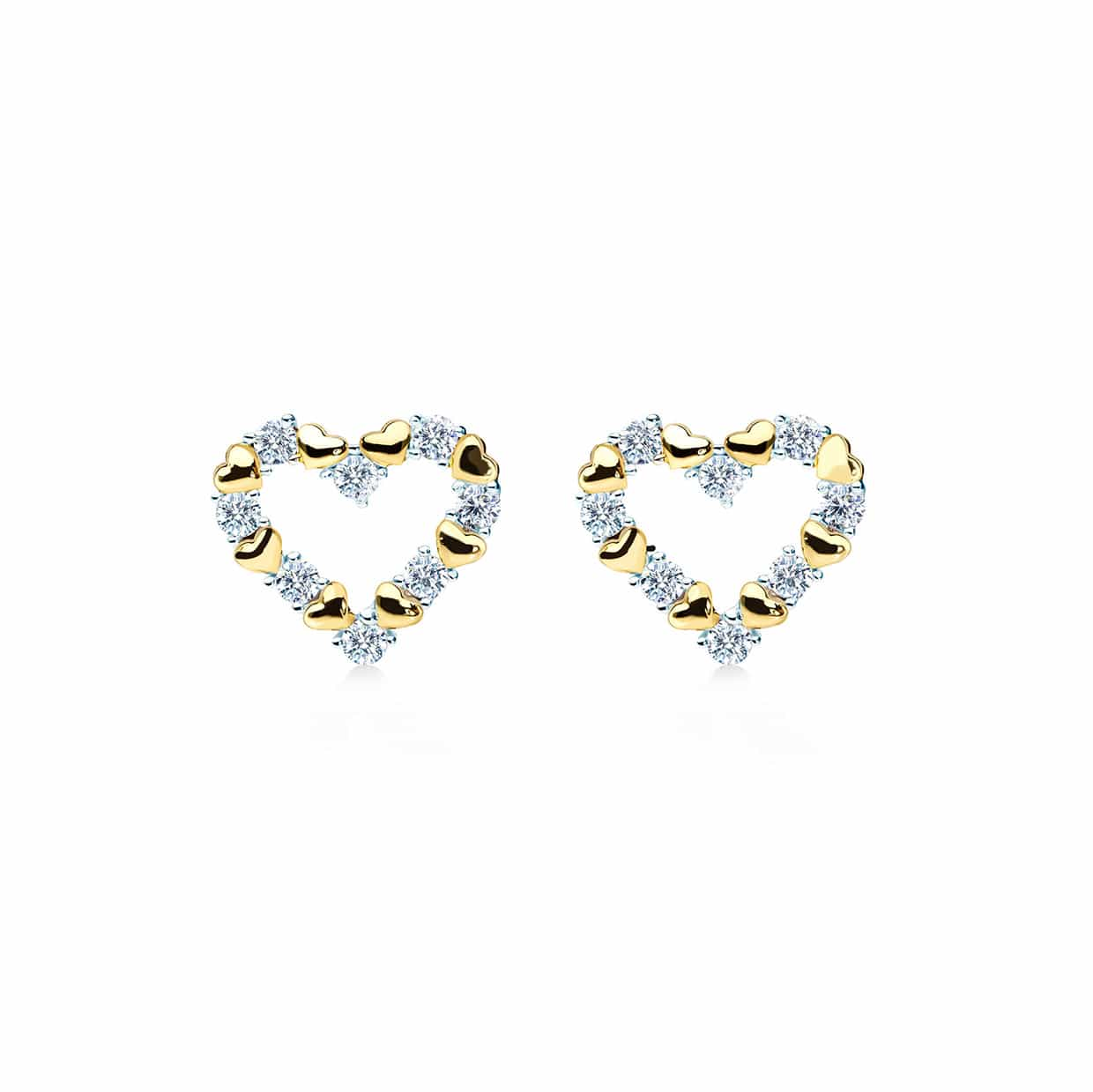 Loving Gold Earrings - Abelstedt