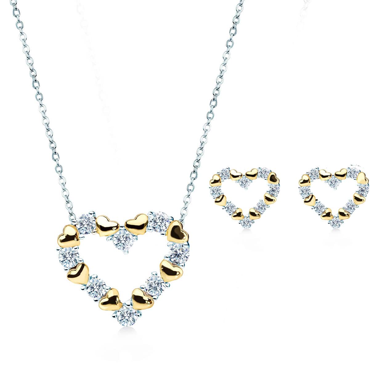 Loving Heart Gold Gift Set - Abelstedt