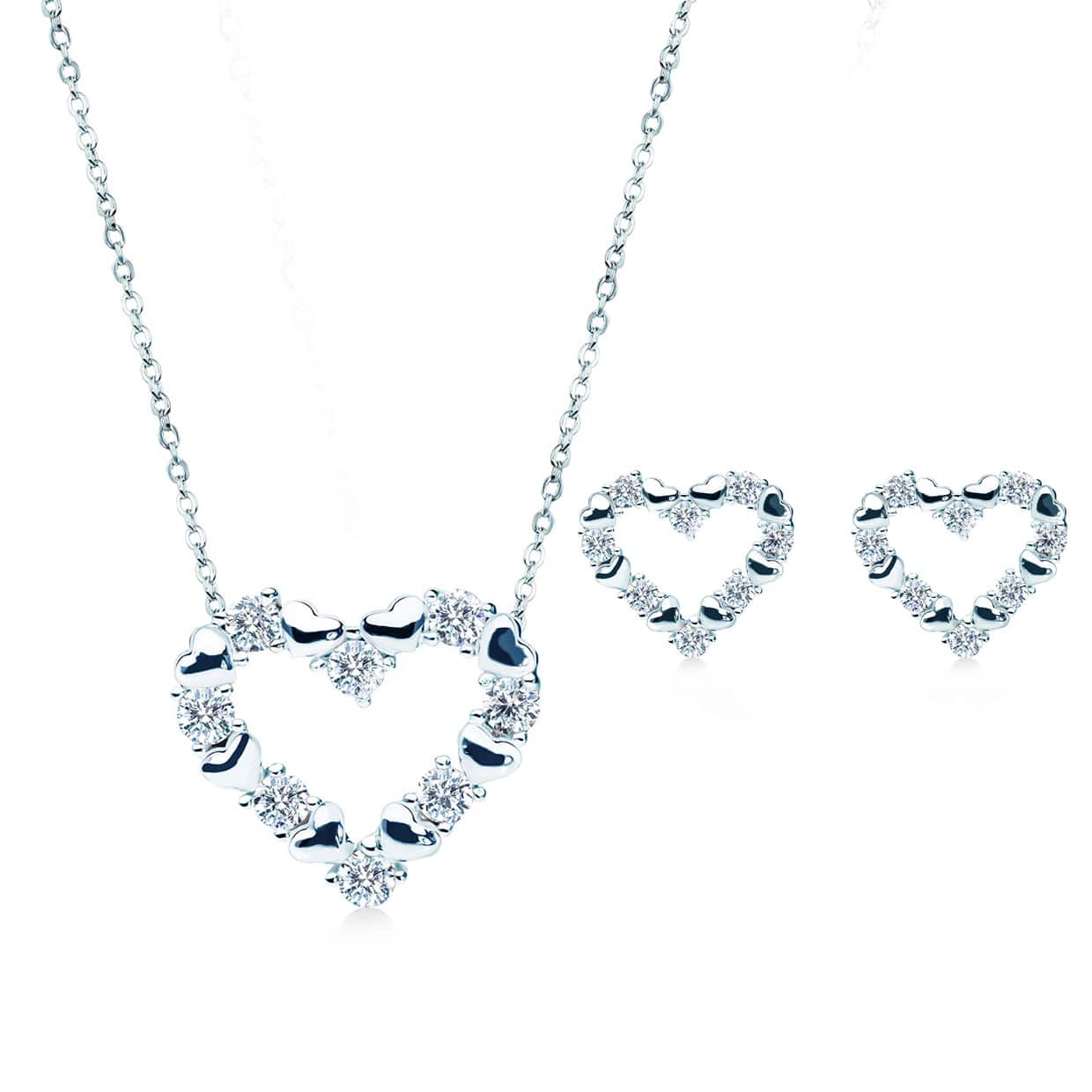 Loving Heart Silver Gift Set - Abelstedt