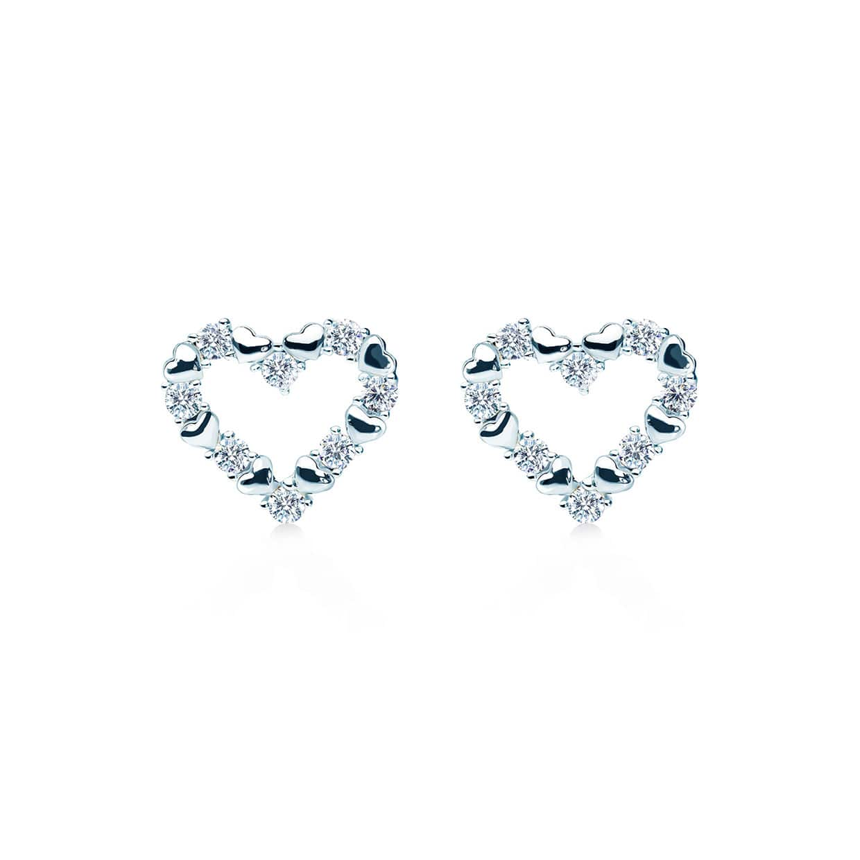 Loving Silver Earrings - Abelstedt