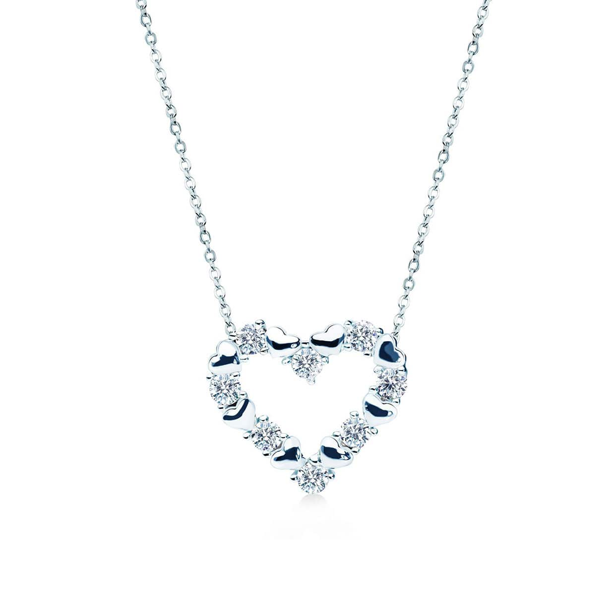 Loving Silver Necklace